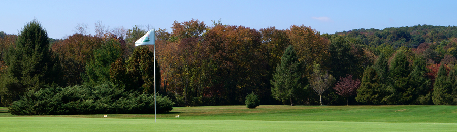 Chapel Hill Golf Club in the fall